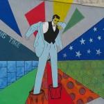 Athens Street Art Festival - Έργο του Franck Duval επί της οδού Αχιλλέως